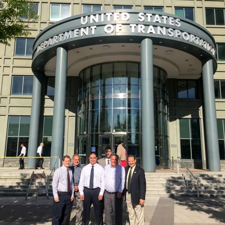 2016 Washington, DC Visit Los Lunas Officials with Martin Heinrich